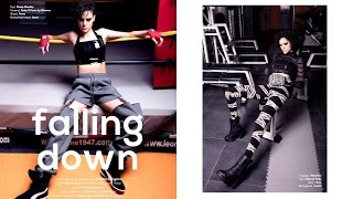 FALLING DOWN editorial for IMute magazine - Marta Forgione photography