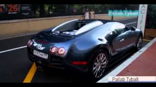 Сексуальные девушки вождение на Bugatti Veyron в Монако!!
