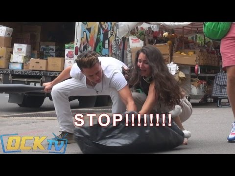 Attacking A Dog In Public! Social Experiment