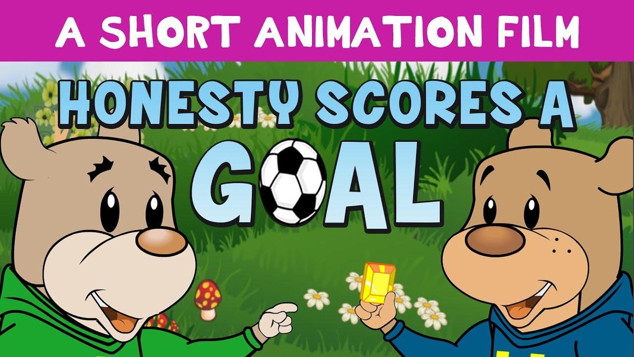 Honesty Scores a Goal - Islamic Cartoon with Zaky