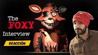 REACCIONO a la ENTREVISTA a FOXY de FNAF en ESPAÑOL - ANIMACIÓN DE FIVE NIGHTS AT FREDDY'S