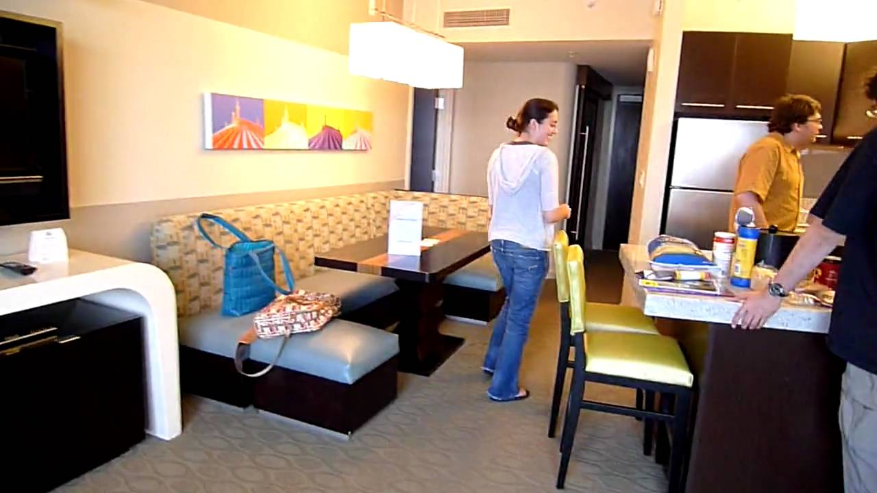 Bay Lake Tower Hotel Room Walk Through Youtube