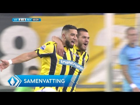 Highlights KNVB Beker: Vitesse - Feyenoord (26.01.2017)