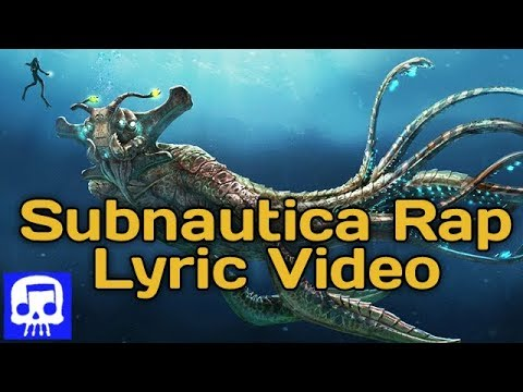 """Subnautica Rap LYRIC VIDEO by JT Music - """"Don't Hold Your Breath"""""""