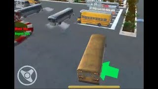 Bus Master Parking 3D Game Level 10-21 Walkthrough | Bus Parking Games