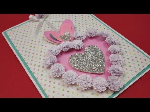 Valentine's Day card idea|DIY Greeting Cards for Friendship Day Card|Handmade gift Rakshabandhan
