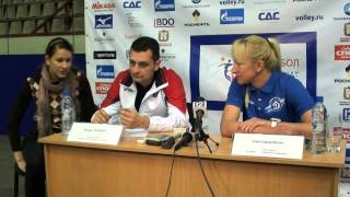 05.11.2012 Zoran Terzich and Svetlana Ilich press-conference.