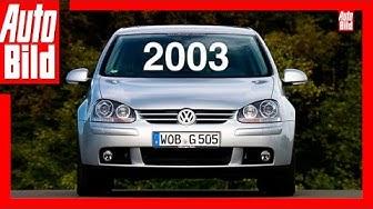 VW Golf 5 (2003): Der Generations-Countdown - Review - Fahrbericht - Test