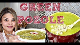 كيفية جعل الأخضر Pozole | الدجاج Pozole وصفة | المكسيكية وصفة Pozole