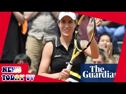 Johanna Konta breaks French Open hoodoo with first-round victory