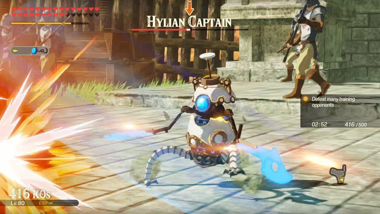 Hyrule Warriors Age Of Calamity Terrako S Moveset Showcase Youtube