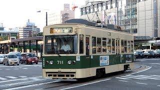 2019/10/27 広島電鉄 700形 711号 広島駅 | Hiroden: 700 Series #711 at Hiroshima Station