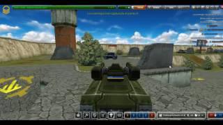 Tanki Online - jugando punto de control