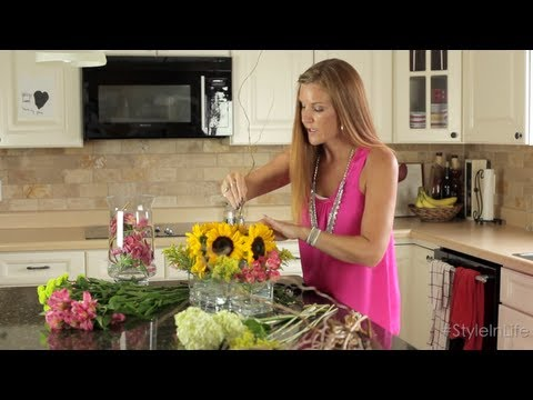 DIY Floral Arrangements - Easy Home Decor