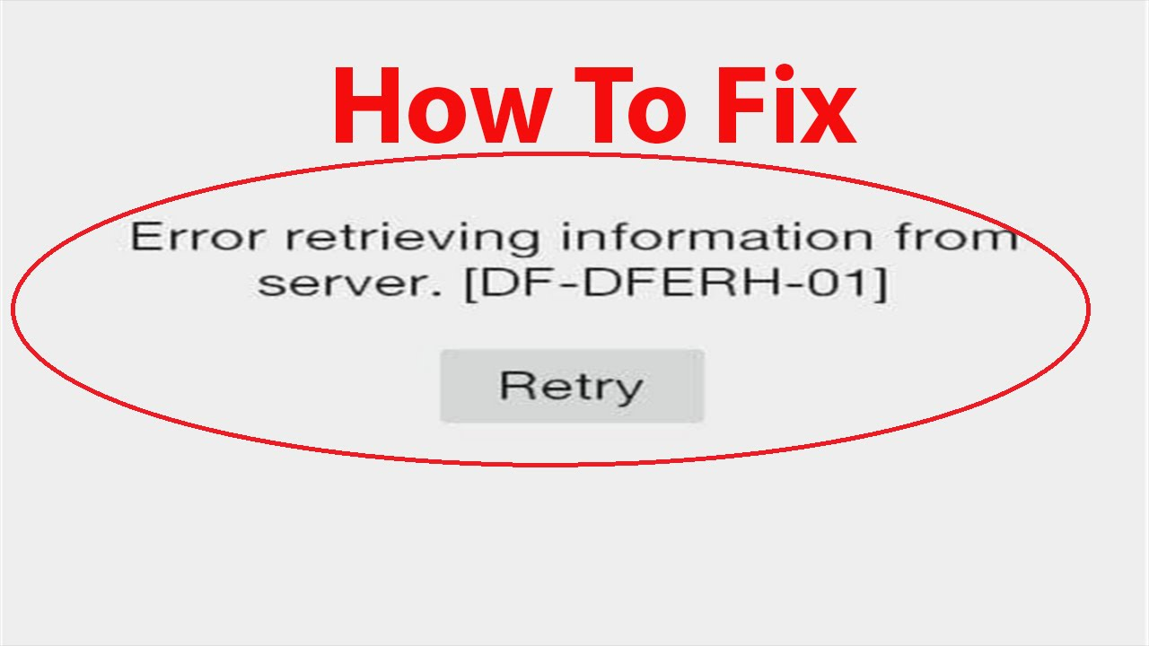 How to Fix \