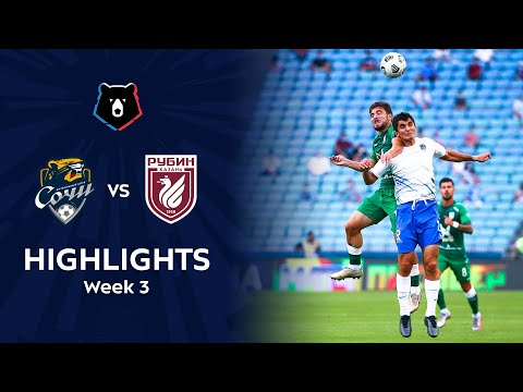 Sochi Rubin Kazan Goals And Highlights