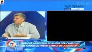 #Argentina pierde final ante #Chile y analistas argentinos se enfadan y le dan con todo a #Messi