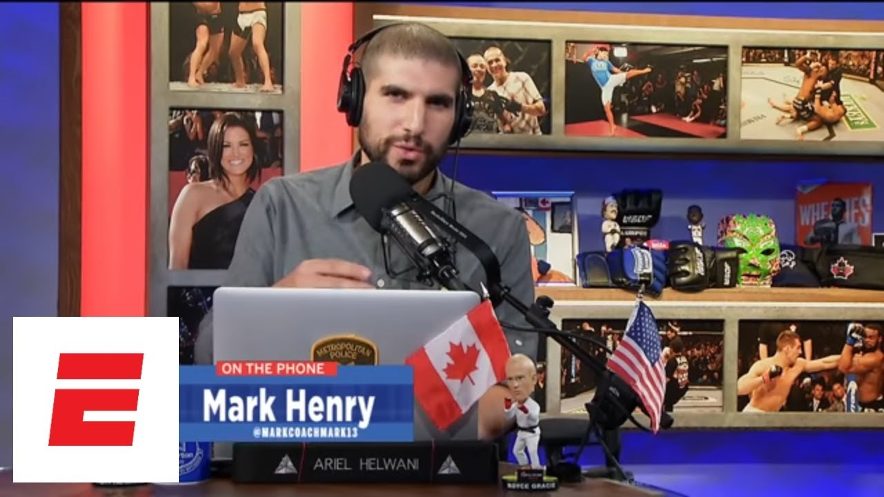Mark Henry accepts '1,000 percent' of blame for Eddie Alvarez loss | Ariel  Helwani's MMA Show | ESPN