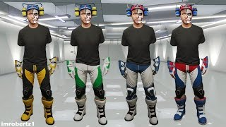 GTA 5 Online - Modded Pants Race Gloves Invisible Body Parts Outfit Glitch! GTA 5 Glitches!