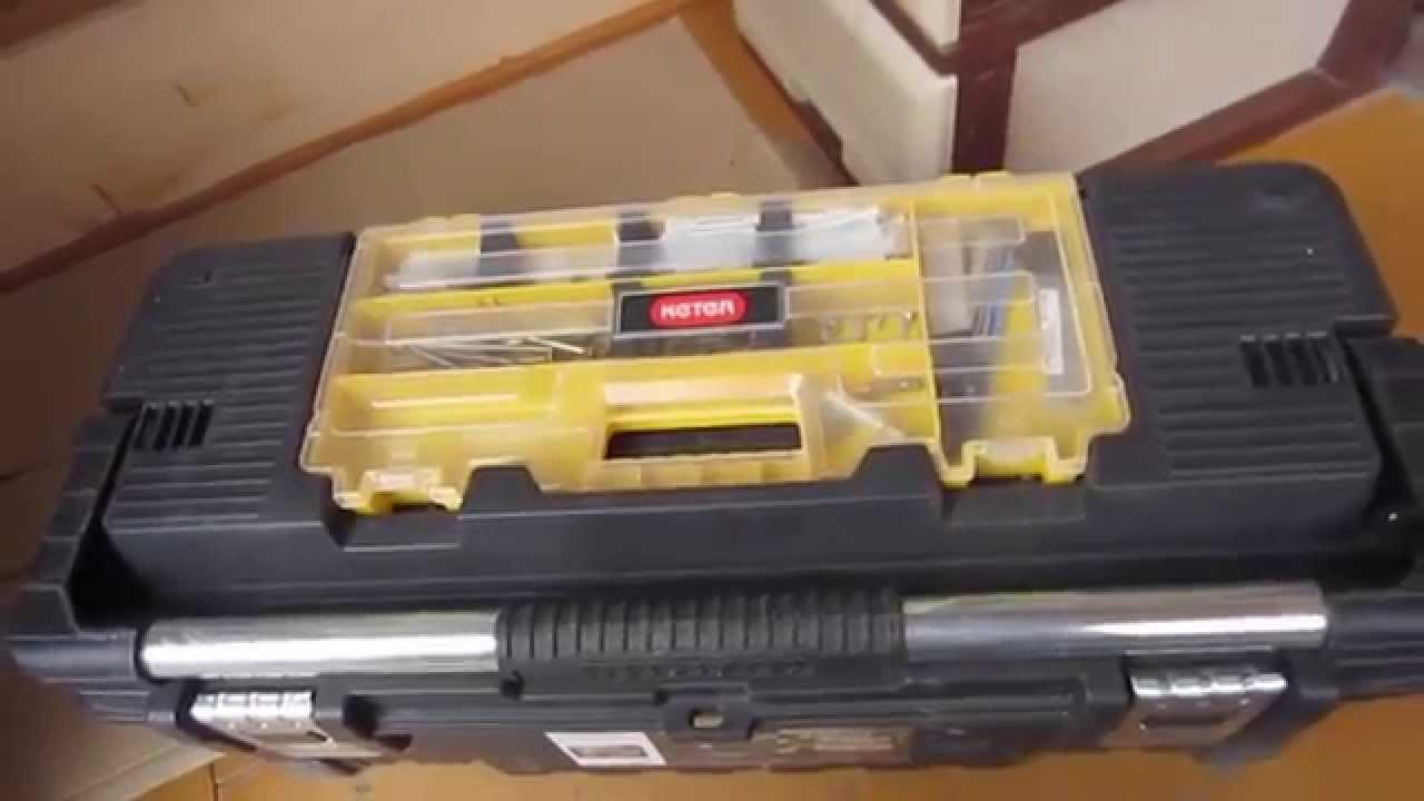 Обзор ящика для инструментов Keter - YouTube