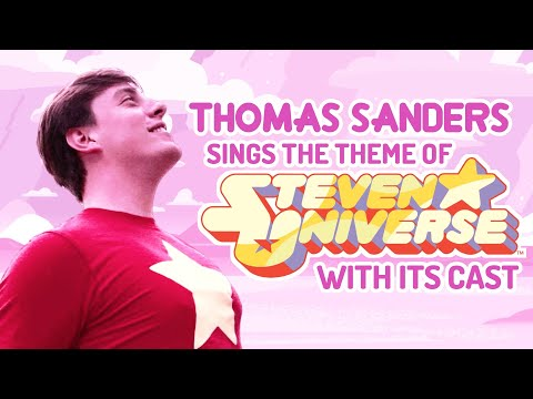 "Thomas Sanders with the Steven Universe cast singing ""We are the Crystal Gems"""