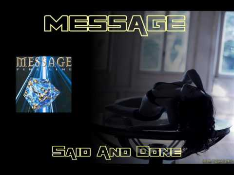 MESSAGE ♠ Said and Done ♠ HQ