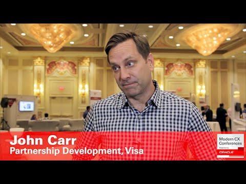 John Carr, Partnership Development Latin America, Visa (Customer Experience)