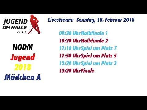 UHC Live  - Hallenhockey Mädchen A Nord-Ostdeutsche Meisterschaft 18.02.2018