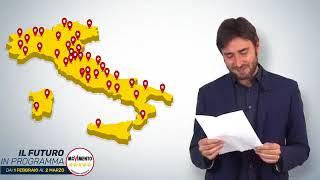 Alessandro Di Battista #FuturoInProgramma (1Febbraio/2Marzo) - 31/1/2018
