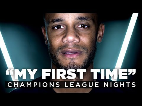 UEFA CHAMPIONS LEAGUE FIRST TIMES | Vincent Kompany and Phil Foden