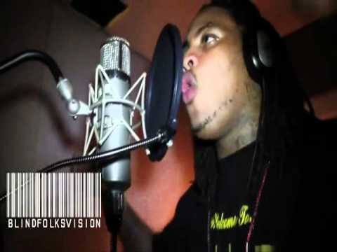 Waka Flocka Goes in the Booth
