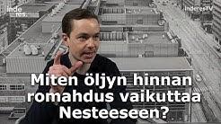 Miten öljyn hinnan romahdus vaikuttaa Nesteeseen?