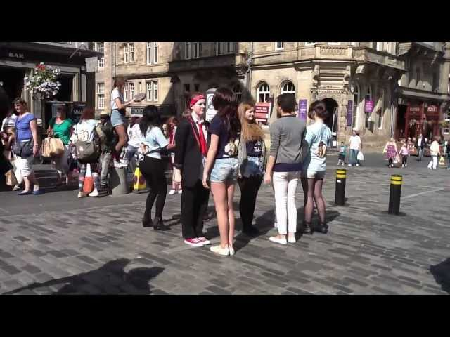 Working Girls:Romeo and Juliet, Edinburgh Fringe 2012 - Tango Travel Video