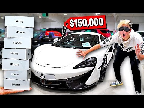Buying EVERYTHING I Touch Blindfolded - Challenge