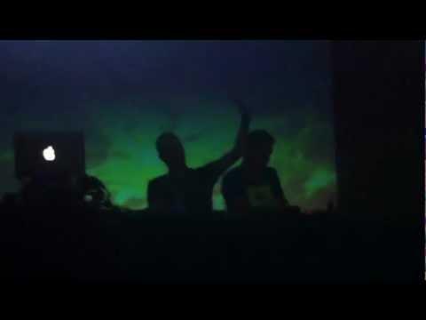 Kamara Dutch Techhouse act in Club Nasa Reykjavik Iceland 2012