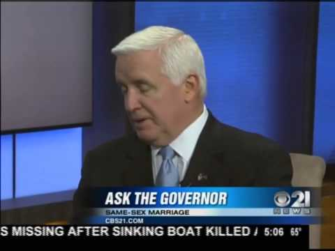 Tom Corbett compares marriage equality to marriage between siblings