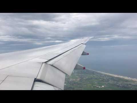 Landing at Japan, Tokyo Narita International Airport, Singapour Airlines Boeing 777