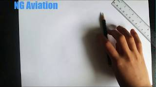 Drawing The Airbus A320