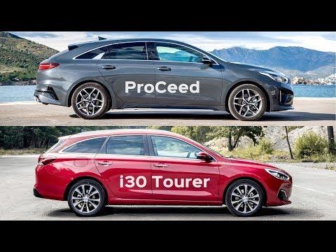 2020 Kia ProCeed Vs Hyundai I30 Tourer