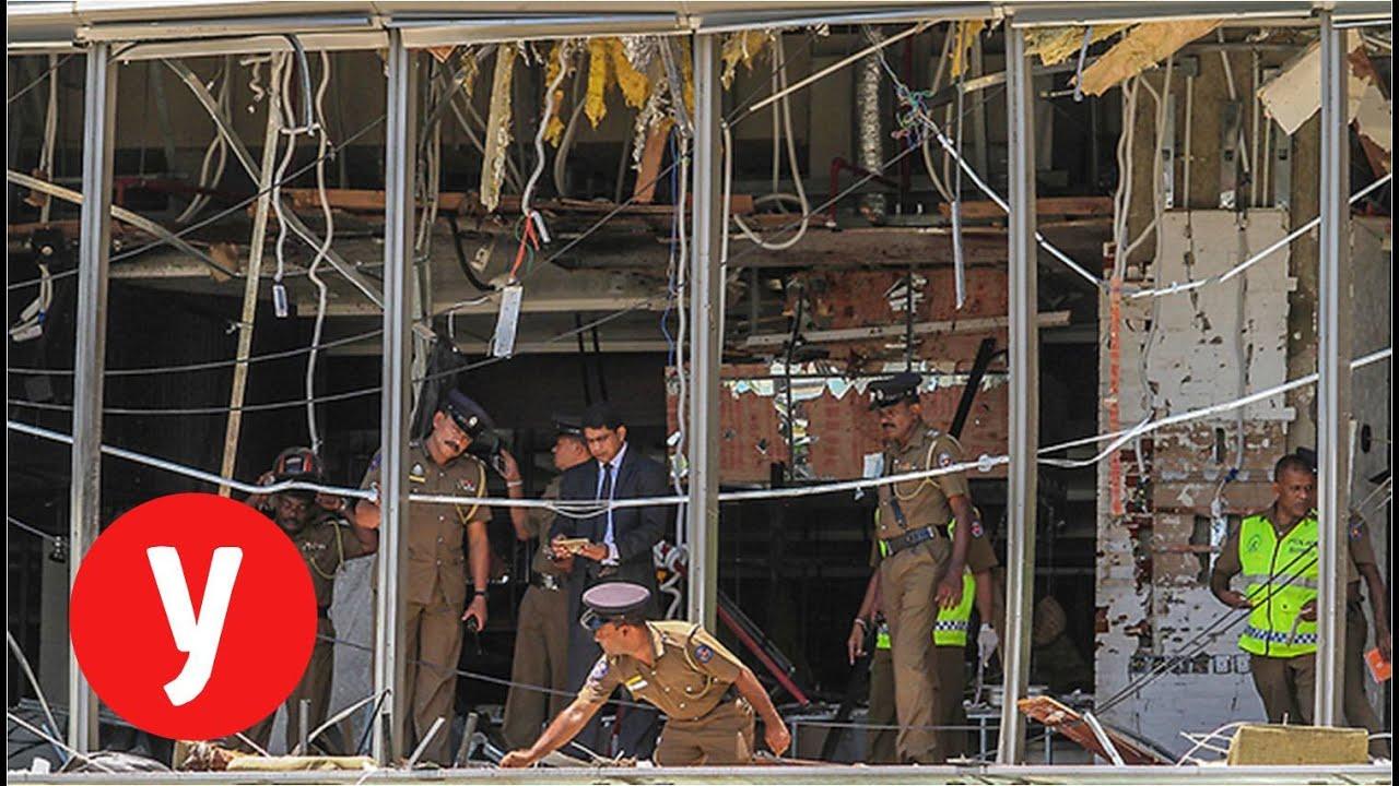 ההרס בסרי לנקה לאחר מתקפת הטרור - YouTube