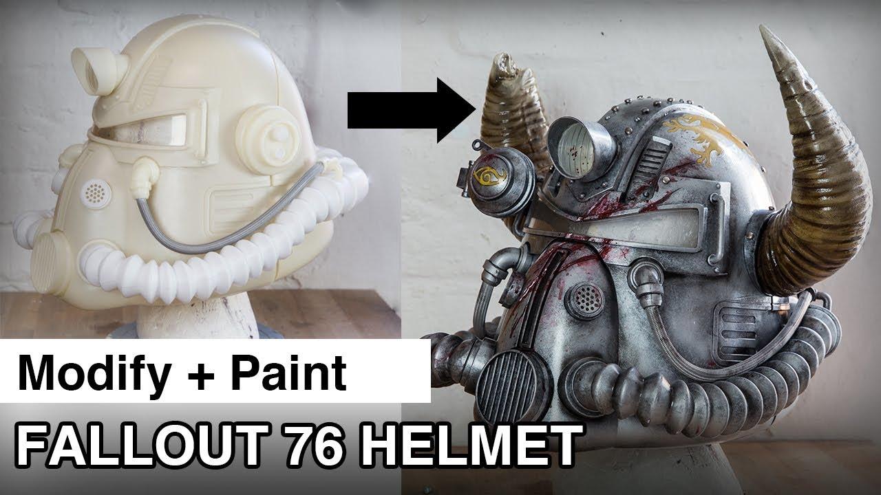 Fallout 76 – Helmets for Habitat | Lightning Cosplay