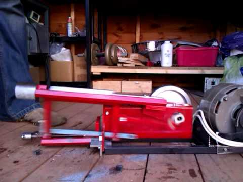 Powered Hacksaw - YouTube
