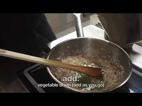 How to make Risotto in 20 minutes by Chef Johan Breedjik