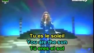 Sheila - Tu Es Le Soleil: English French Lyrics & Subs