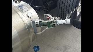 How To Fuel A Liquid Natural Gas (LNG) Semi Truck
