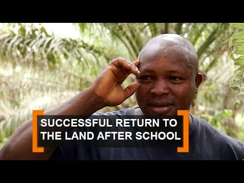 Benin: Successful return to the land after school
