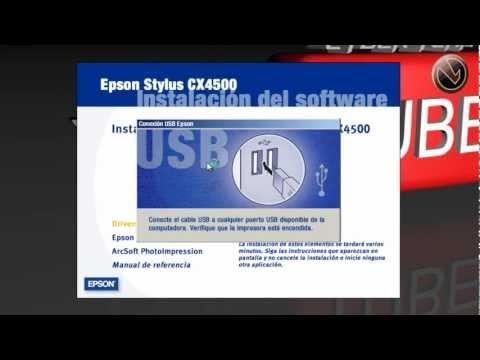 Drivers Impresora Epson Stylus CX4500