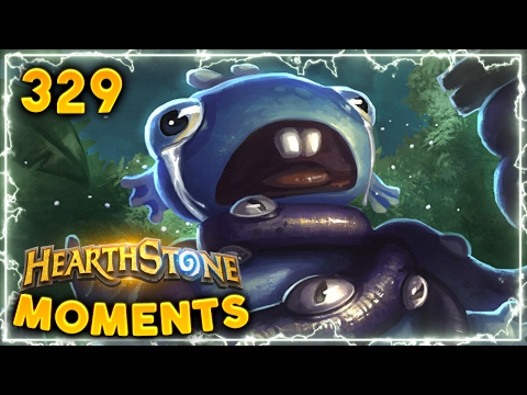 Creamed by Warlock! ( ͡° ͜ʖ ͡°)   Hearthstone Daily Moments Ep. 329 (Funny and Lucky Moments)