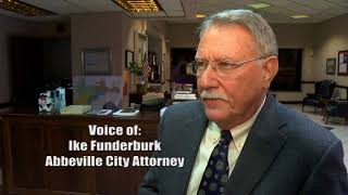 Abbeville City Attorney Ike Funderburk