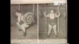 Пол Андерсон - самый сильный человек в истории. Часть 1 (перевод SFAP)